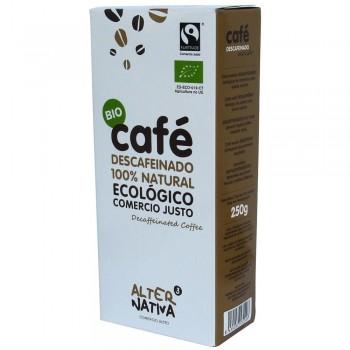 café descafeinado molido 250g