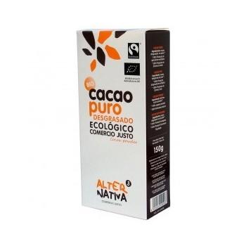 cacao puro en polvo desgrasado Bio 150g