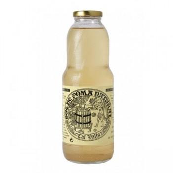 zumo de manzana ácida natural 1l