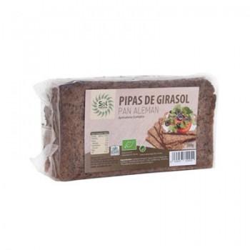 Pan alemán pipas de girasol bio 500g