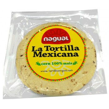 tortilla de maíz  nagual sin gluten 220g