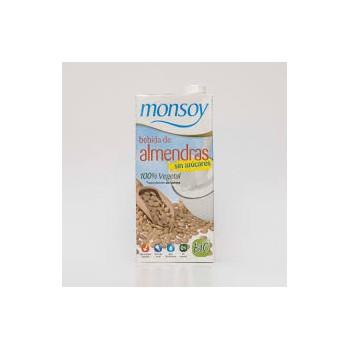 Monsoy almendras sin azúcares 1l