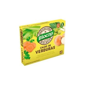 CALDO VERDURAS CUBITOS BIOCOP 6 X 10G