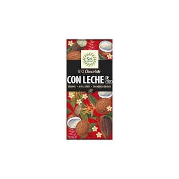 TABLETA CHOCOLATE CON LECHE DE COCO BIO