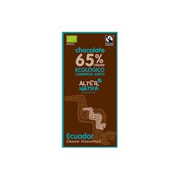 CHOCOLATE 65% ECUADOR BIO 80G