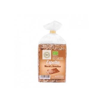Cracker Espelta Muesli Semillas 200 g