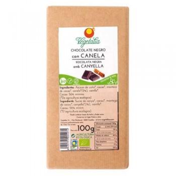 CHOCOLATE NEGRO con CANELA BIO CCPAE 100g