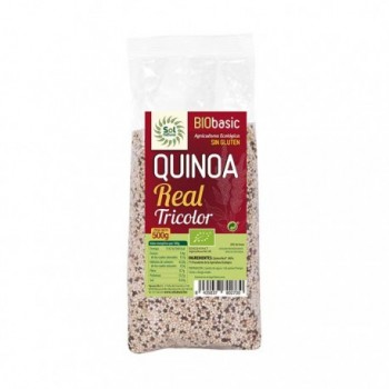 Quinoa real tricolor 500g Solnatural
