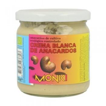 CREMA ANACARDOS BLANCOS 330G MONKI